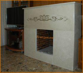 chimeneas-marmol